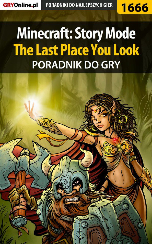Minecraft: Story Mode - The Last Place You Look - poradnik do gry - Ebook (Książka PDF) do pobrania w formacie PDF