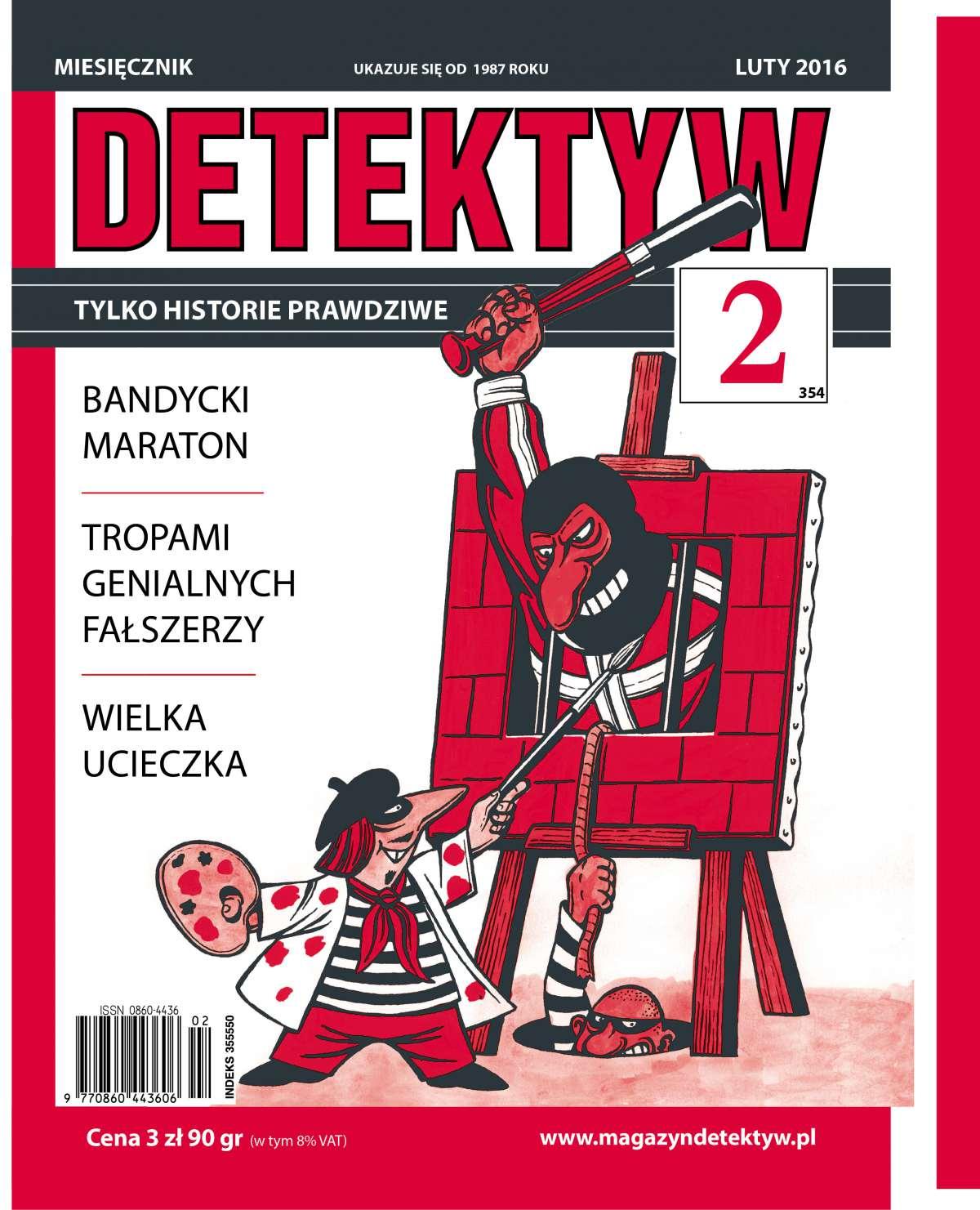 Detektyw 2/2016 - Ebook (Książka na Kindle) do pobrania w formacie MOBI