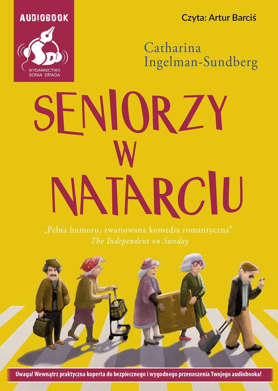 Seniorzy w natarciu - Audiobook (Książka audio MP3) do pobrania w całości w archiwum ZIP