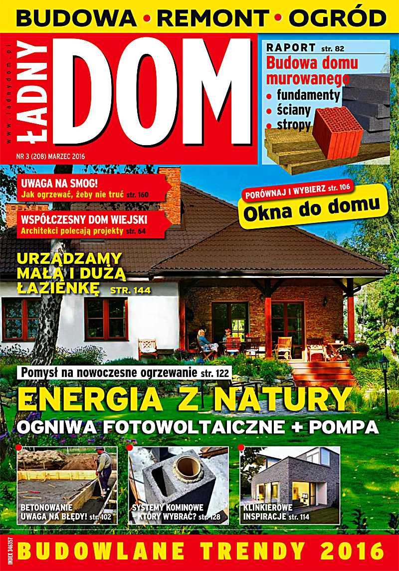 Ładny Dom 3/2016 - Ebook (Książka PDF) do pobrania w formacie PDF