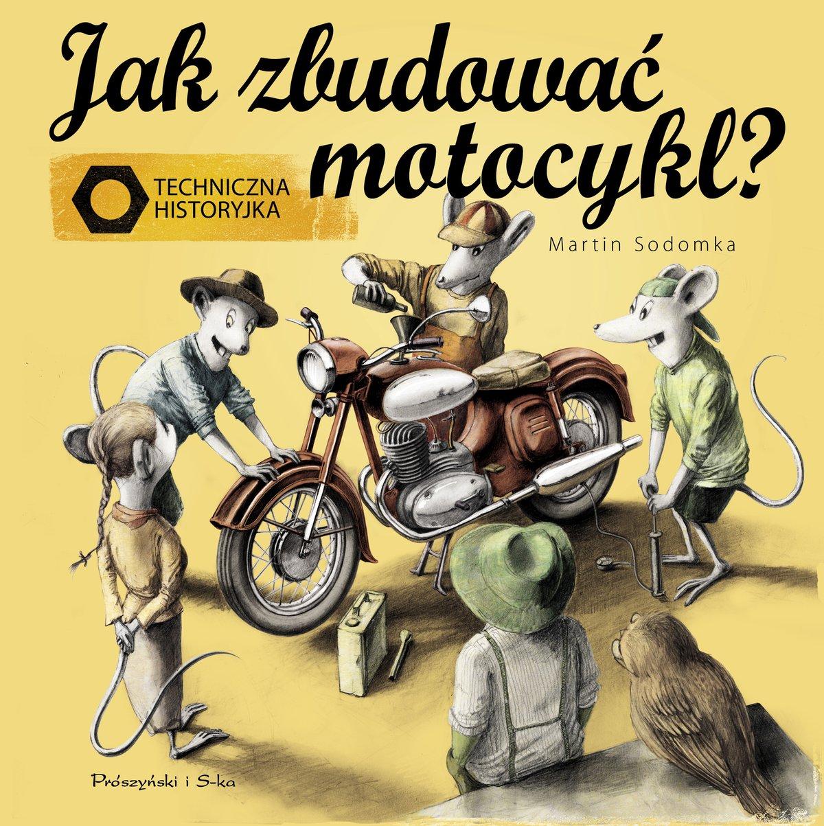 Jak zbudować motocykl? - Ebook (Książka na Kindle) do pobrania w formacie MOBI