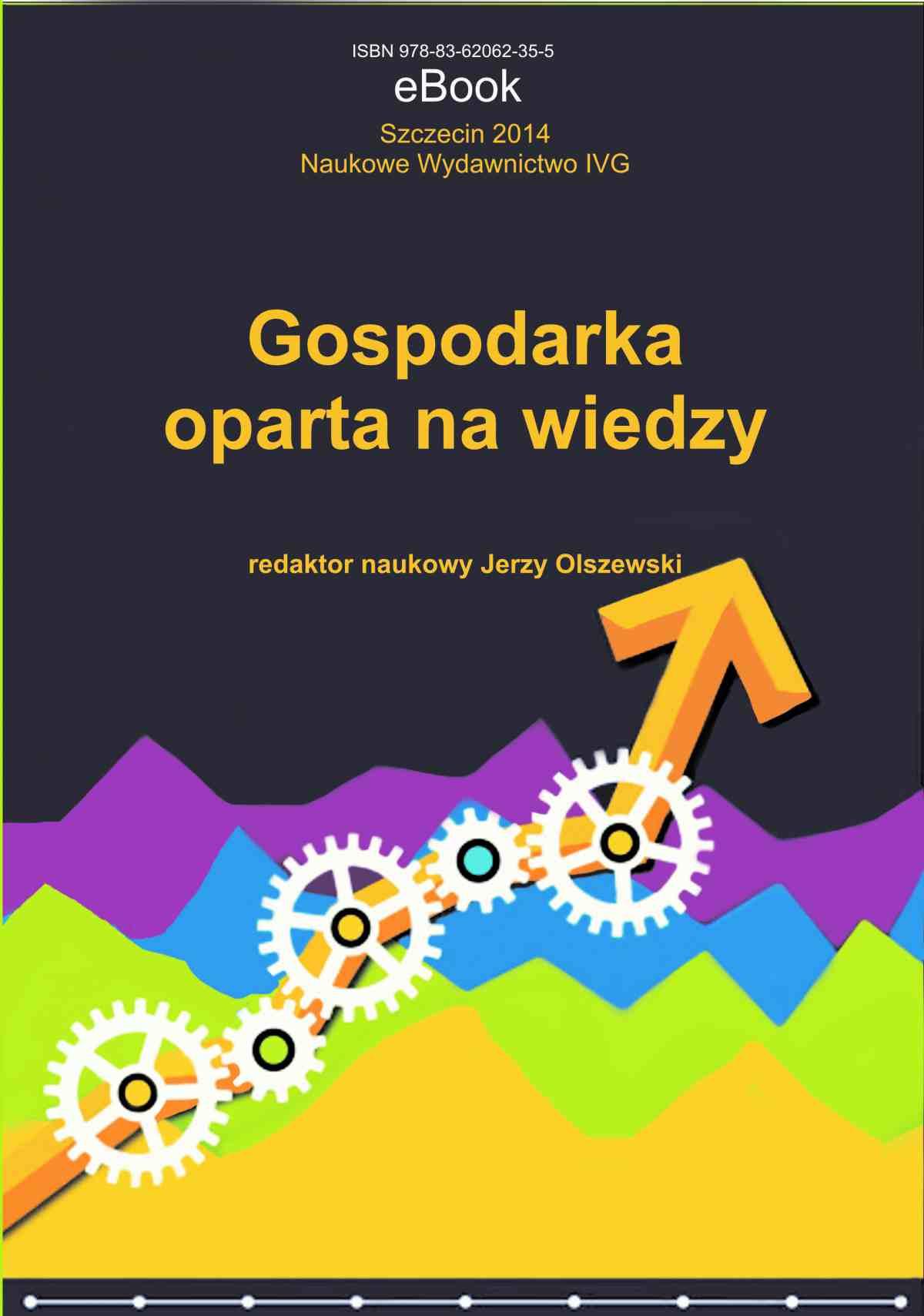 Gospodarka oparta na wiedzy - Ebook (Książka PDF) do pobrania w formacie PDF