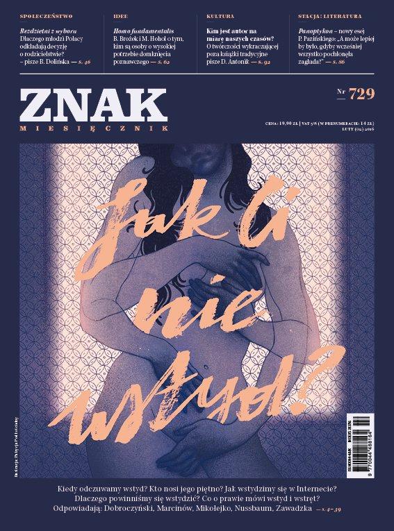 Miesięcznik Znak. Jak Ci nie wstyd? Nr 729 - Ebook (Książka PDF) do pobrania w formacie PDF