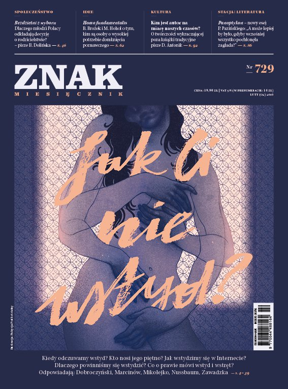 Miesięcznik Znak. Jak Ci nie wstyd? Nr 729 - Ebook (Książka EPUB) do pobrania w formacie EPUB
