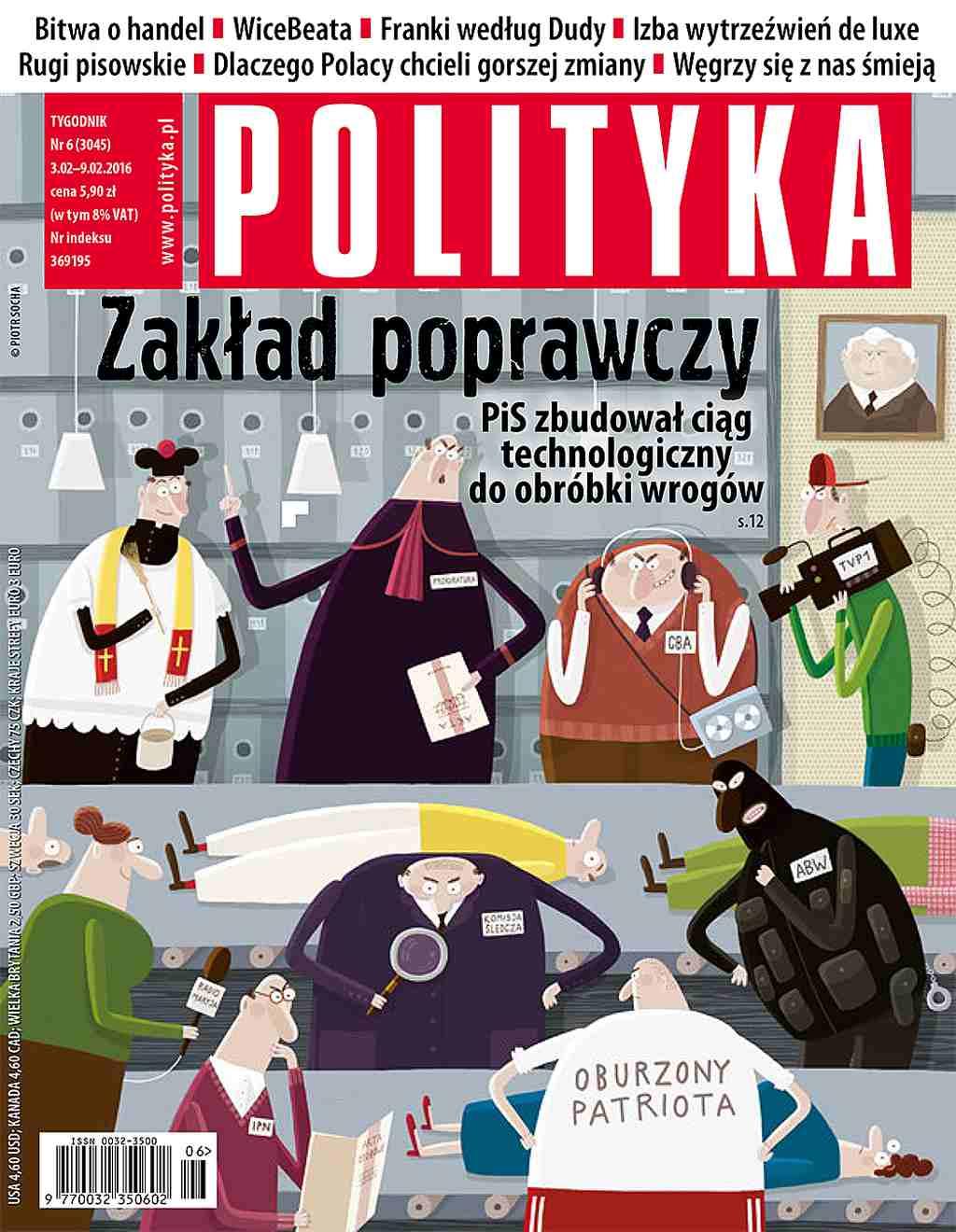 Polityka nr 6/2016 - Ebook (Książka PDF) do pobrania w formacie PDF