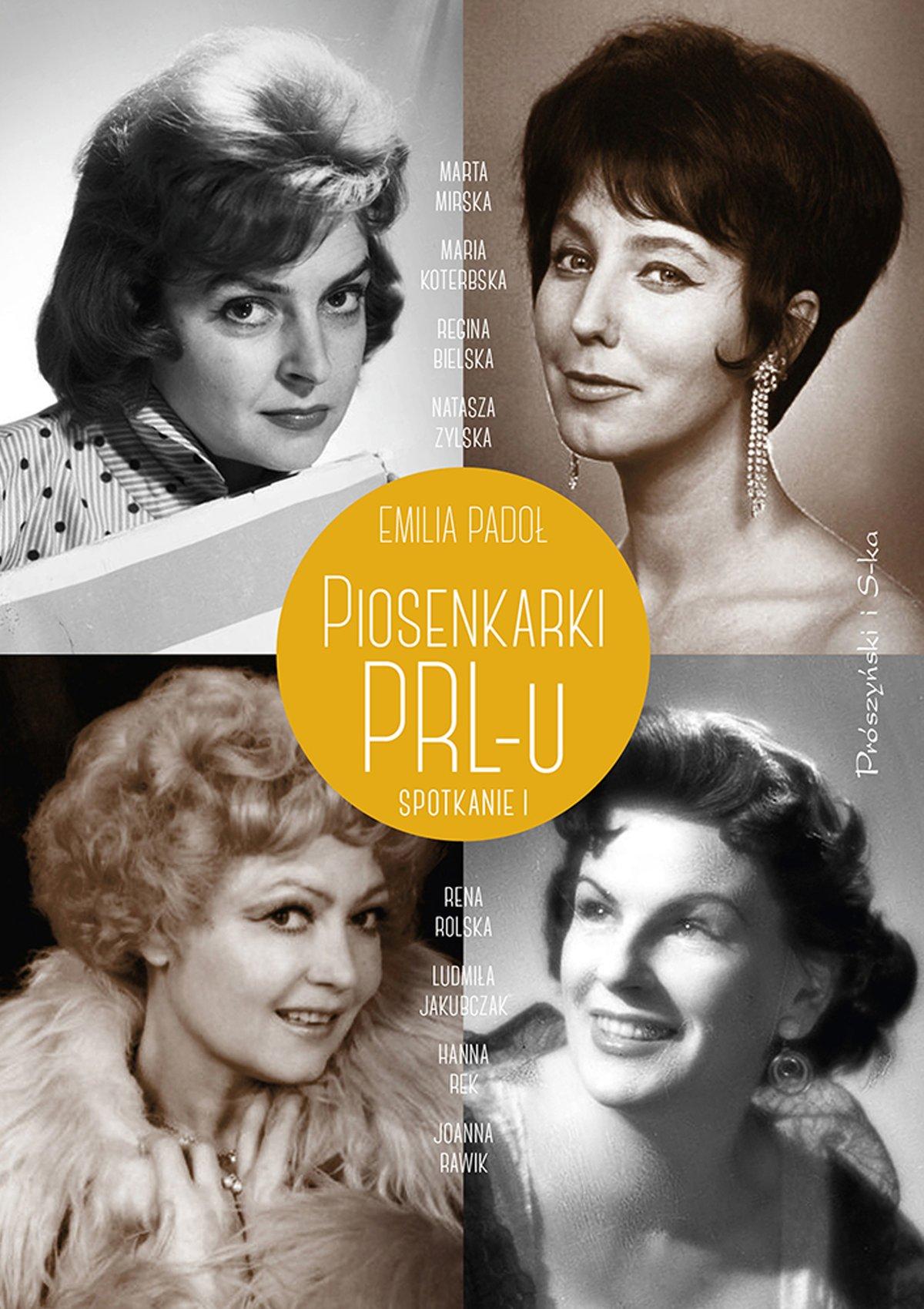 Piosenkarki PRL-u - Ebook (Książka EPUB) do pobrania w formacie EPUB