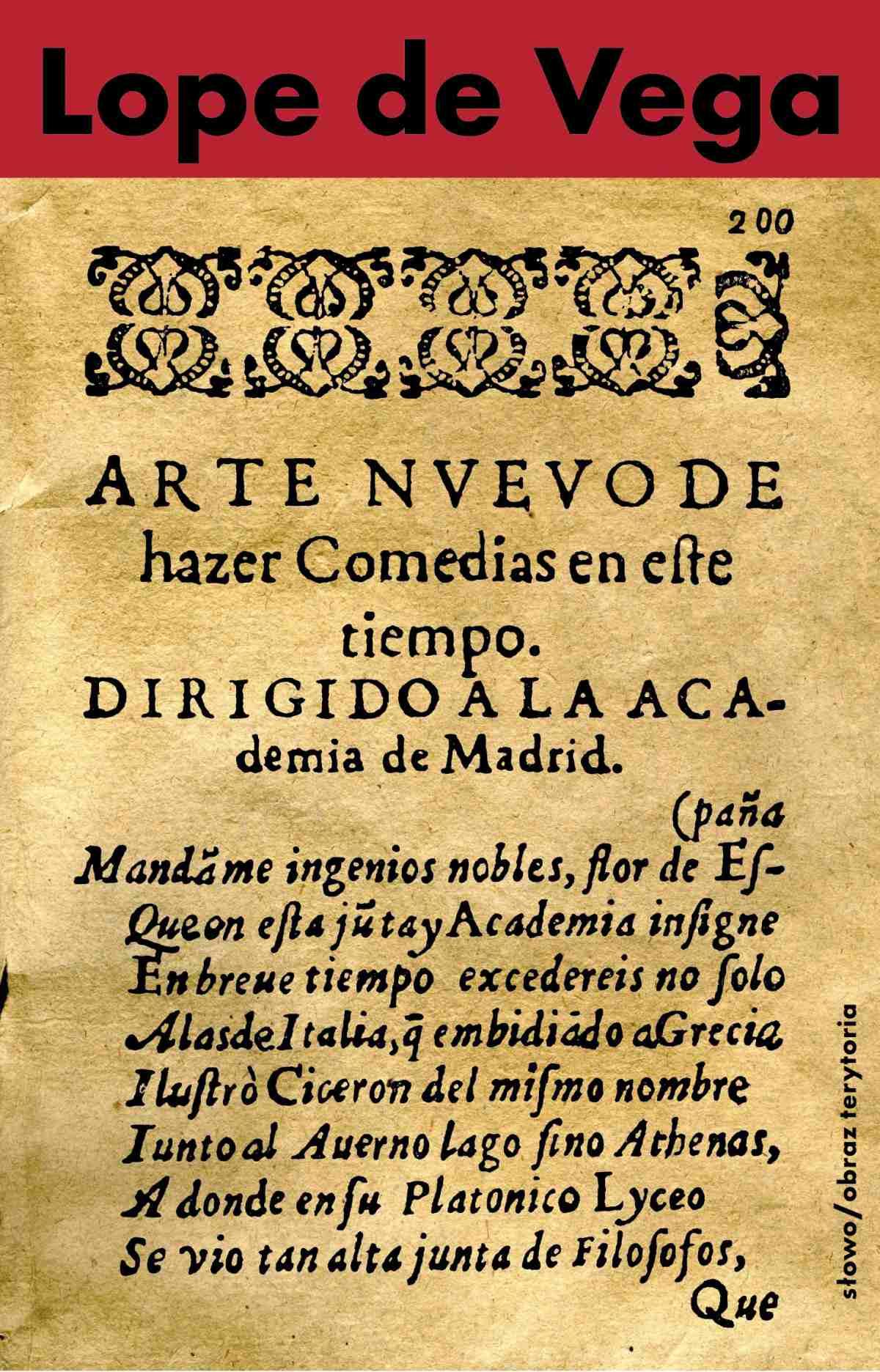 Nowa sztuka pisania komedii w dzisiejszych czasach przedstawiona Akademii w Madrycie - Ebook (Książka EPUB) do pobrania w formacie EPUB