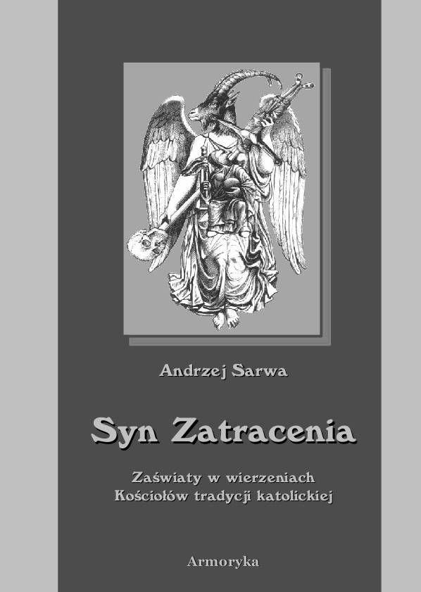 Syn zatracenia. Zaświaty w wierzeniach Kościołów tradycji katolickiej - Ebook (Książka PDF) do pobrania w formacie PDF