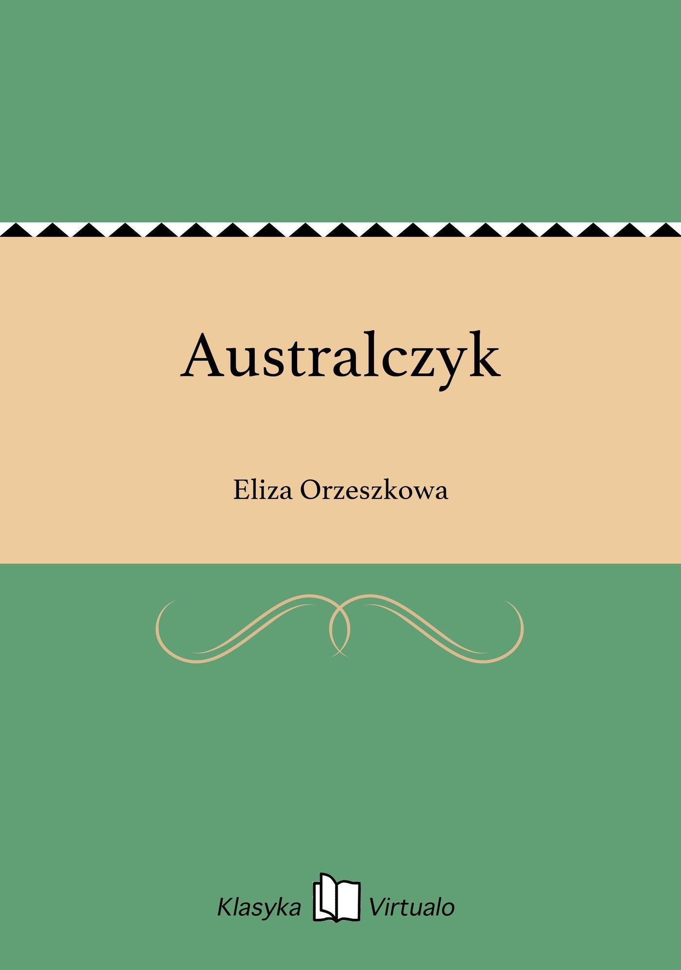 Australczyk - Ebook (Książka na Kindle) do pobrania w formacie MOBI