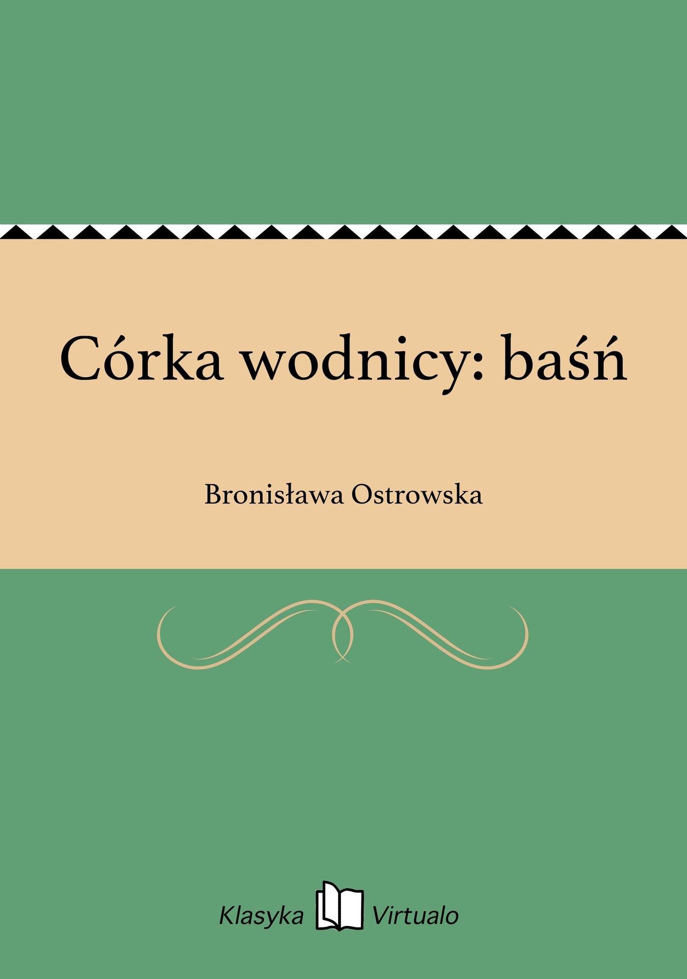 Córka wodnicy: baśń - Ebook (Książka na Kindle) do pobrania w formacie MOBI
