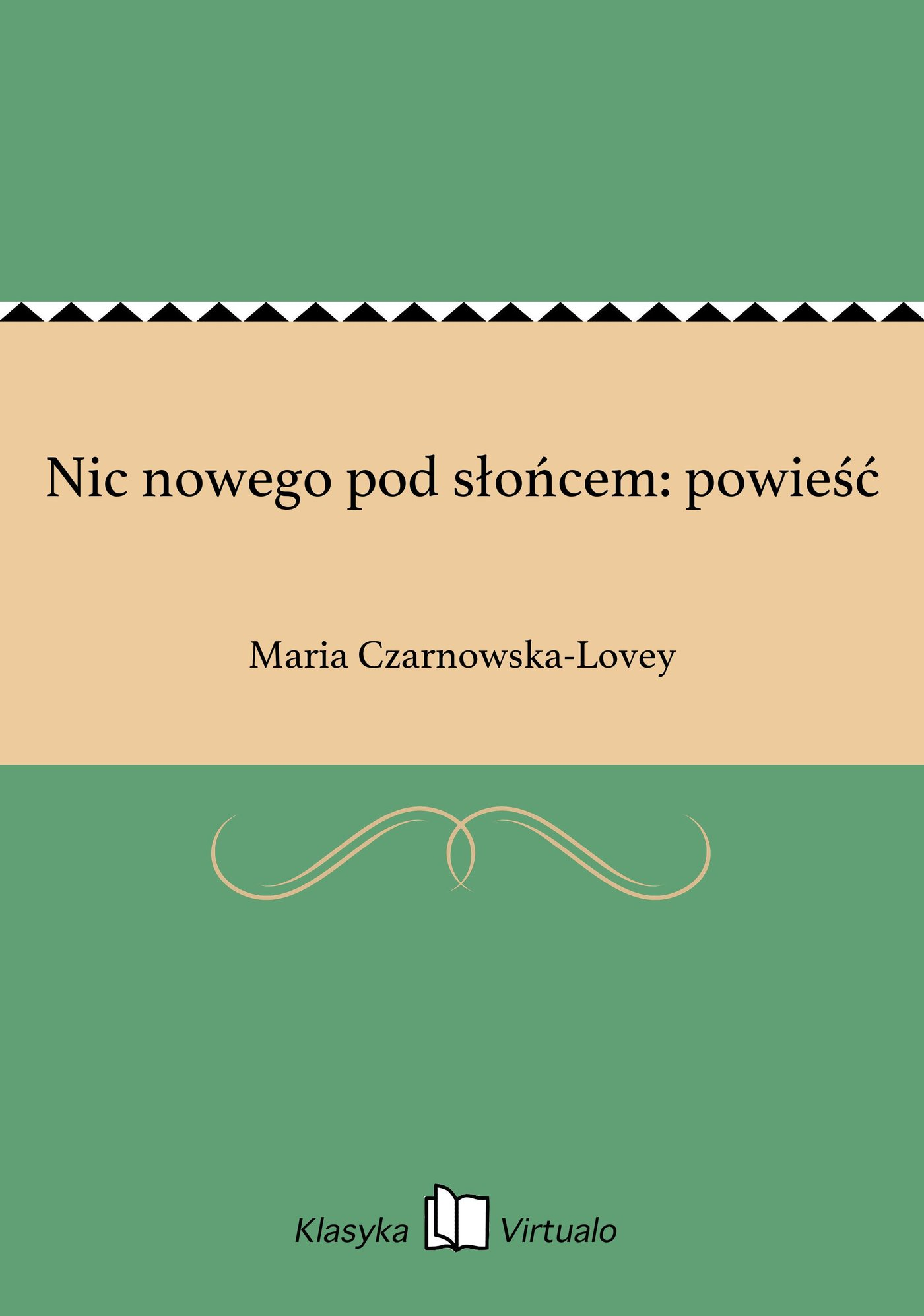 Nic nowego pod słońcem: powieść - Ebook (Książka na Kindle) do pobrania w formacie MOBI
