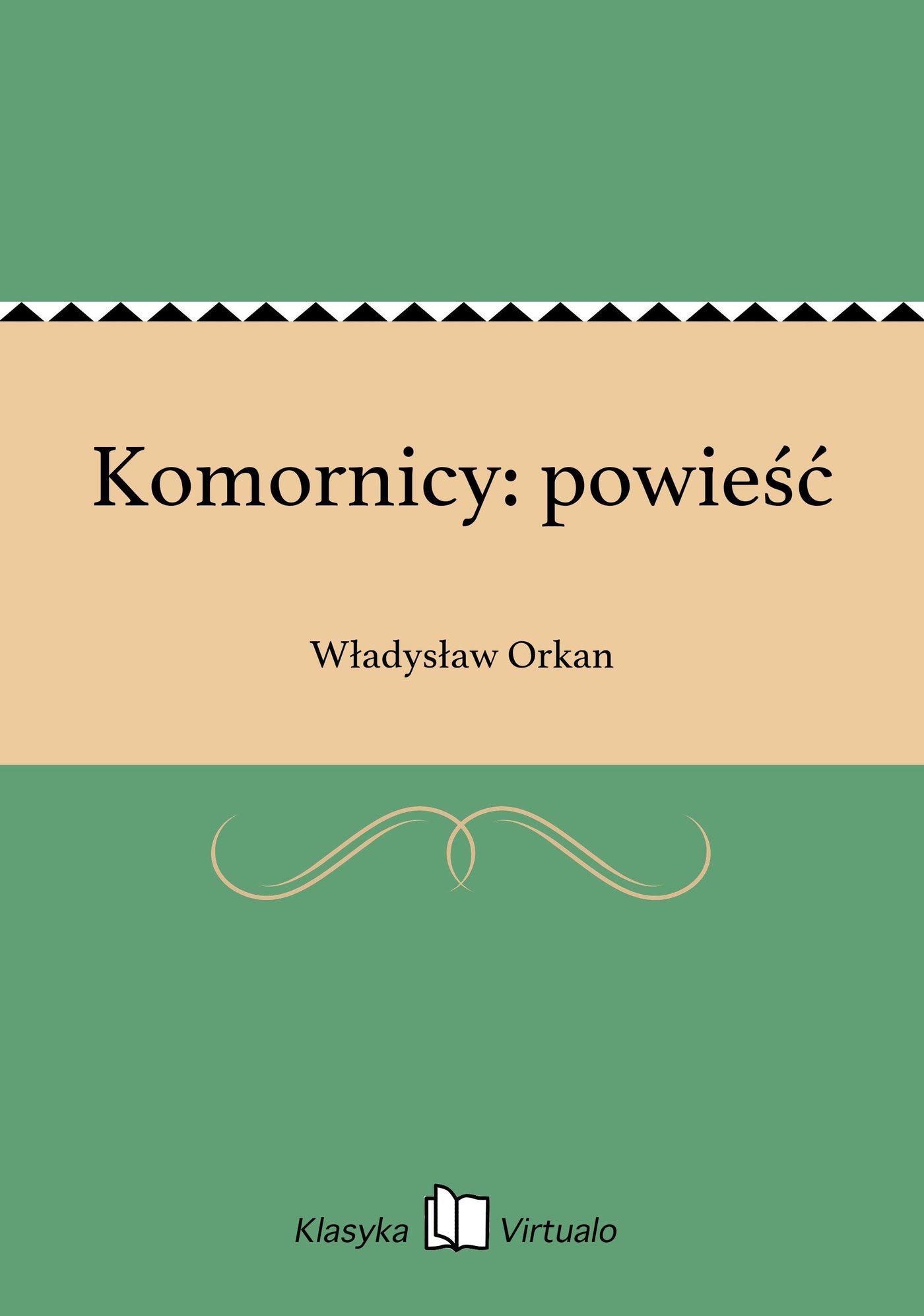 Komornicy: powieść - Ebook (Książka na Kindle) do pobrania w formacie MOBI