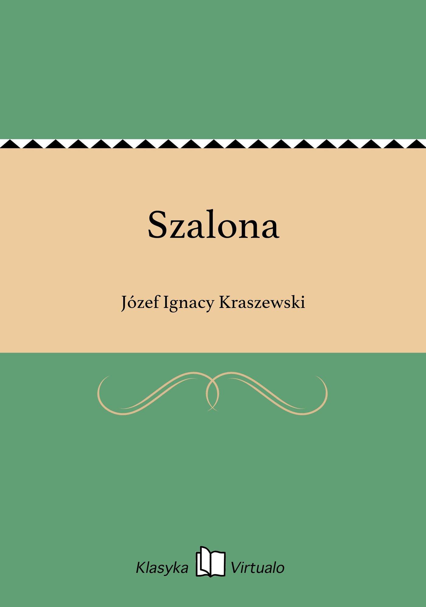 Szalona - Ebook (Książka na Kindle) do pobrania w formacie MOBI