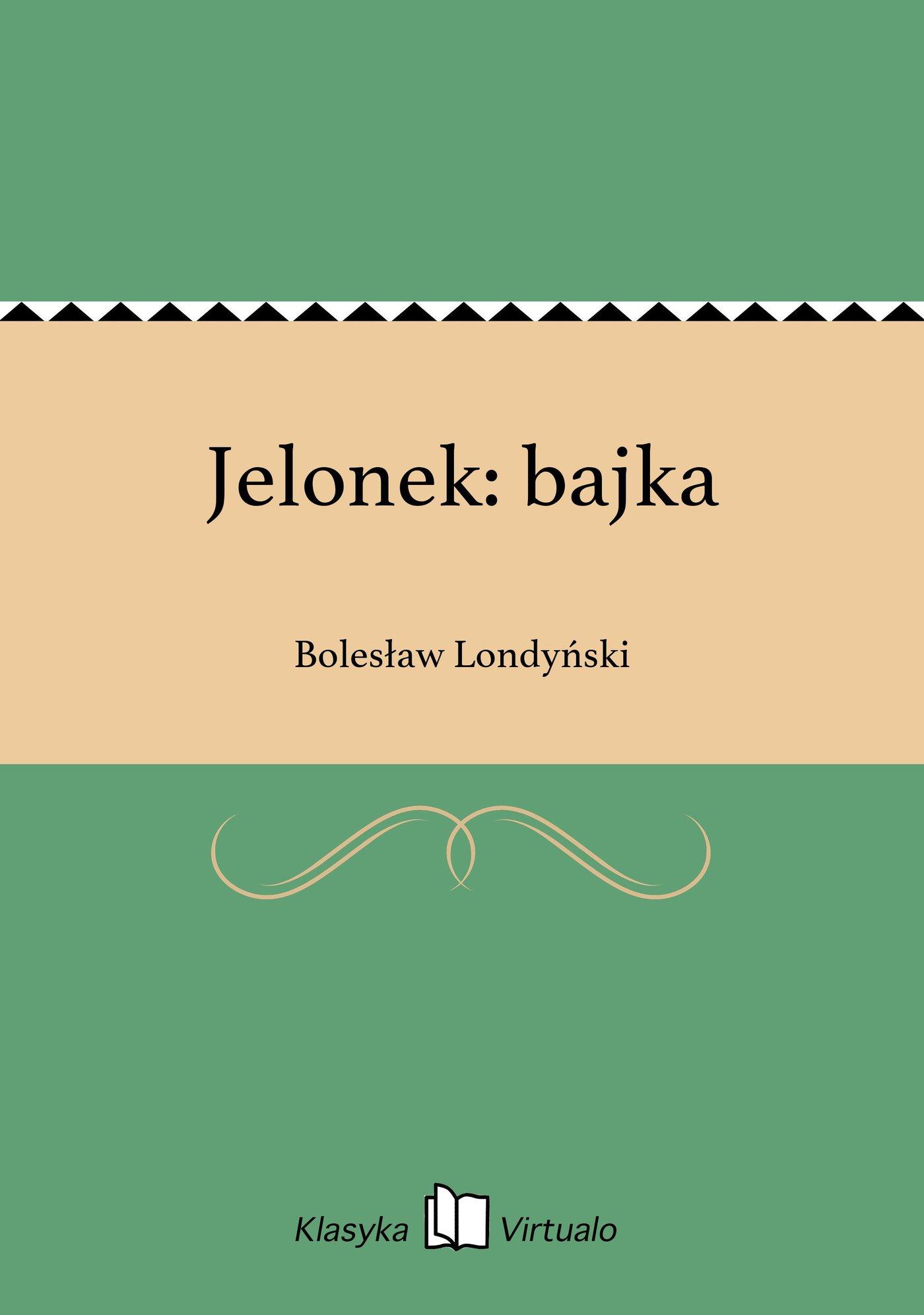 Jelonek: bajka - Ebook (Książka na Kindle) do pobrania w formacie MOBI