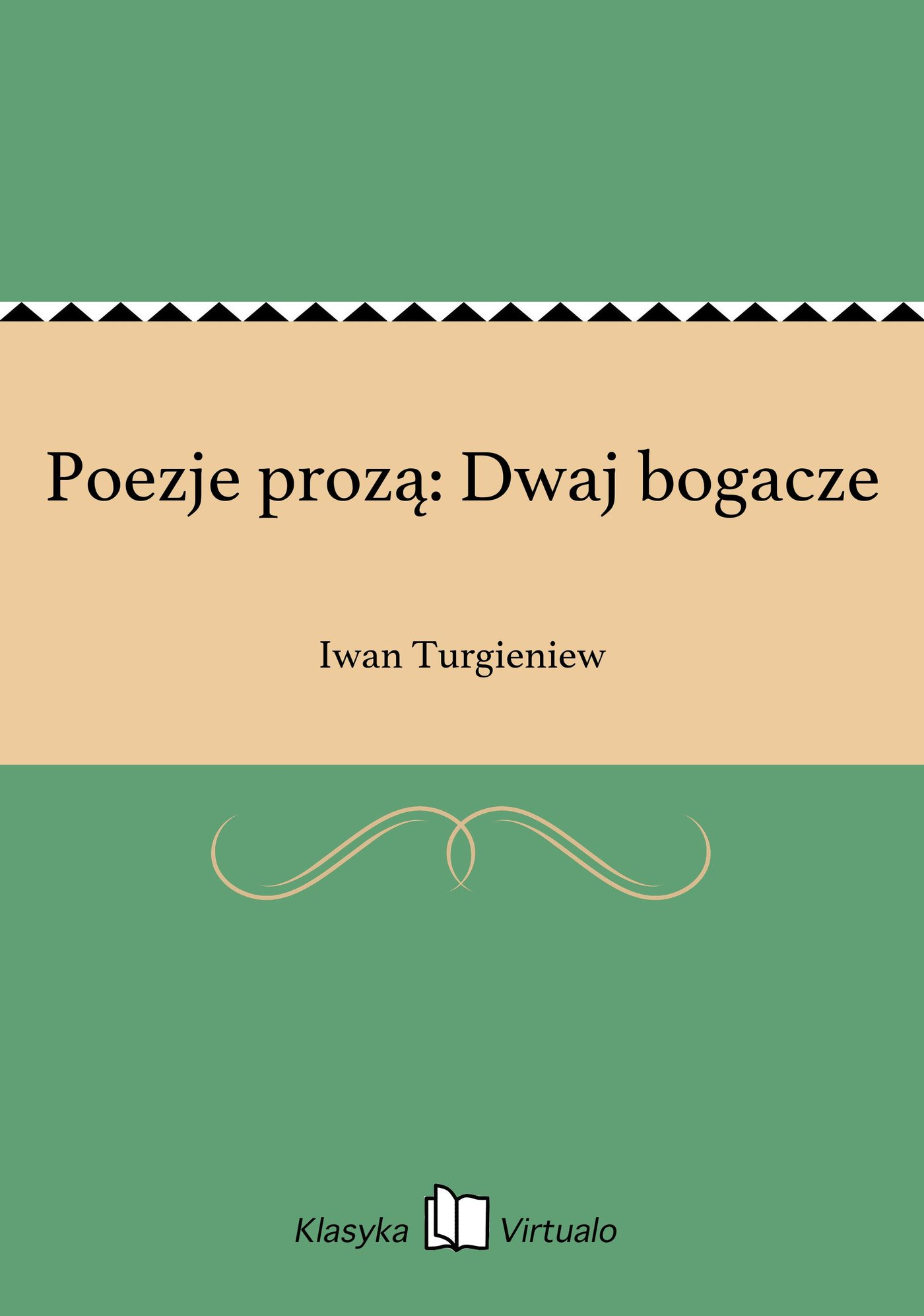 Poezje prozą: Dwaj bogacze - Ebook (Książka na Kindle) do pobrania w formacie MOBI