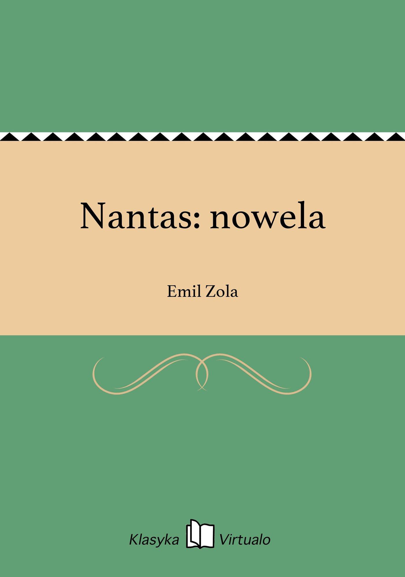 Nantas: nowela - Ebook (Książka na Kindle) do pobrania w formacie MOBI
