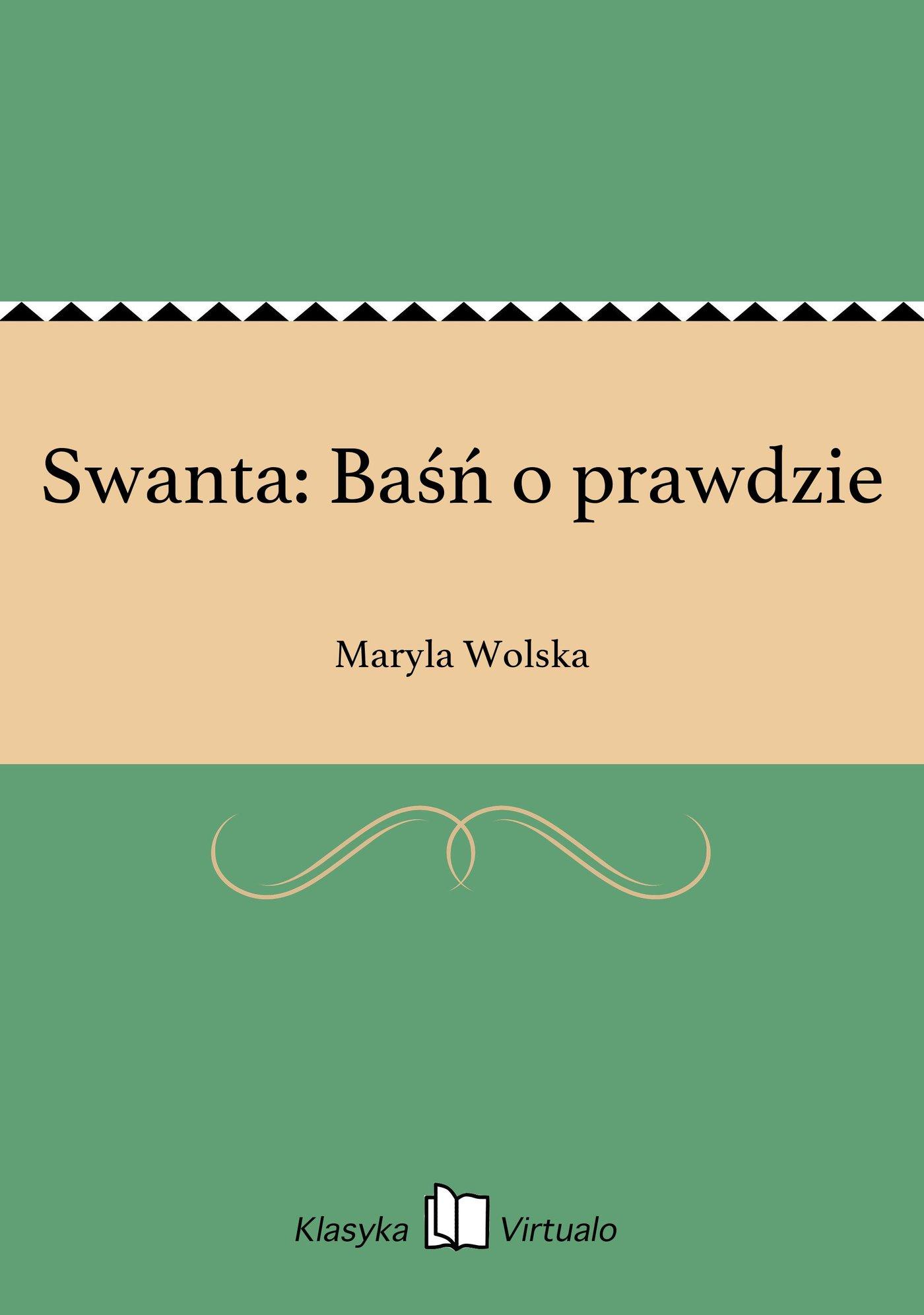 Swanta: Baśń o prawdzie - Ebook (Książka na Kindle) do pobrania w formacie MOBI