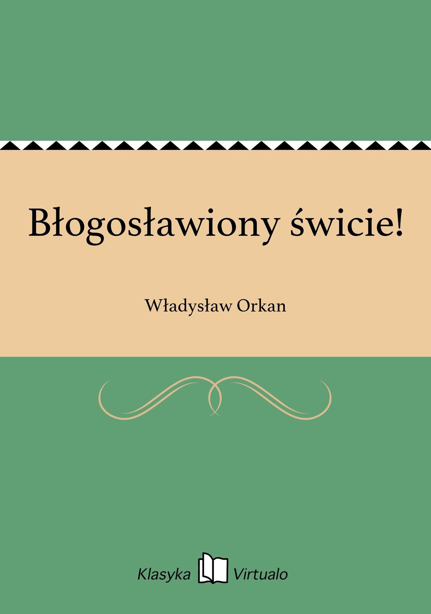 Błogosławiony świcie! - Ebook (Książka na Kindle) do pobrania w formacie MOBI