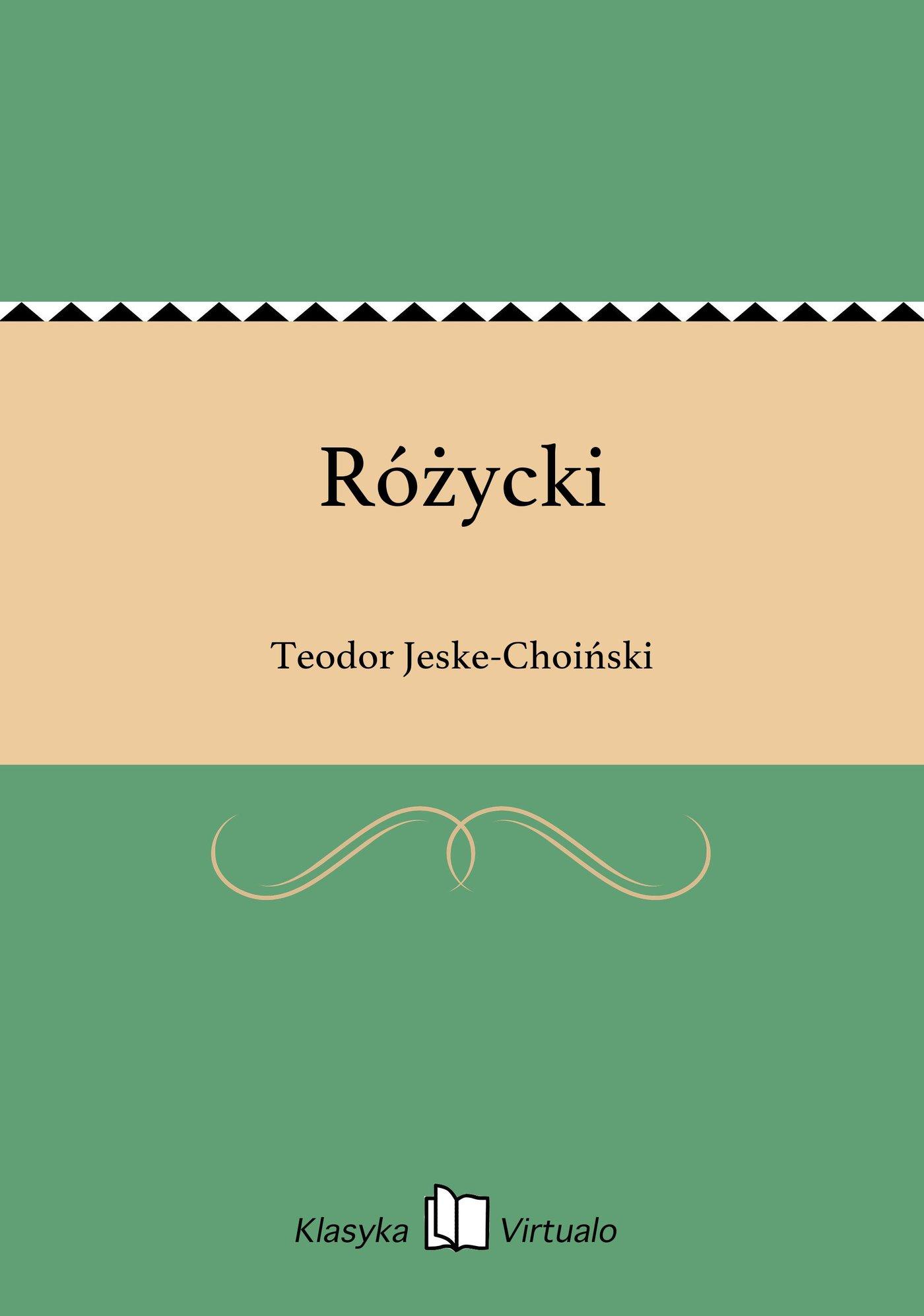 Różycki - Ebook (Książka na Kindle) do pobrania w formacie MOBI