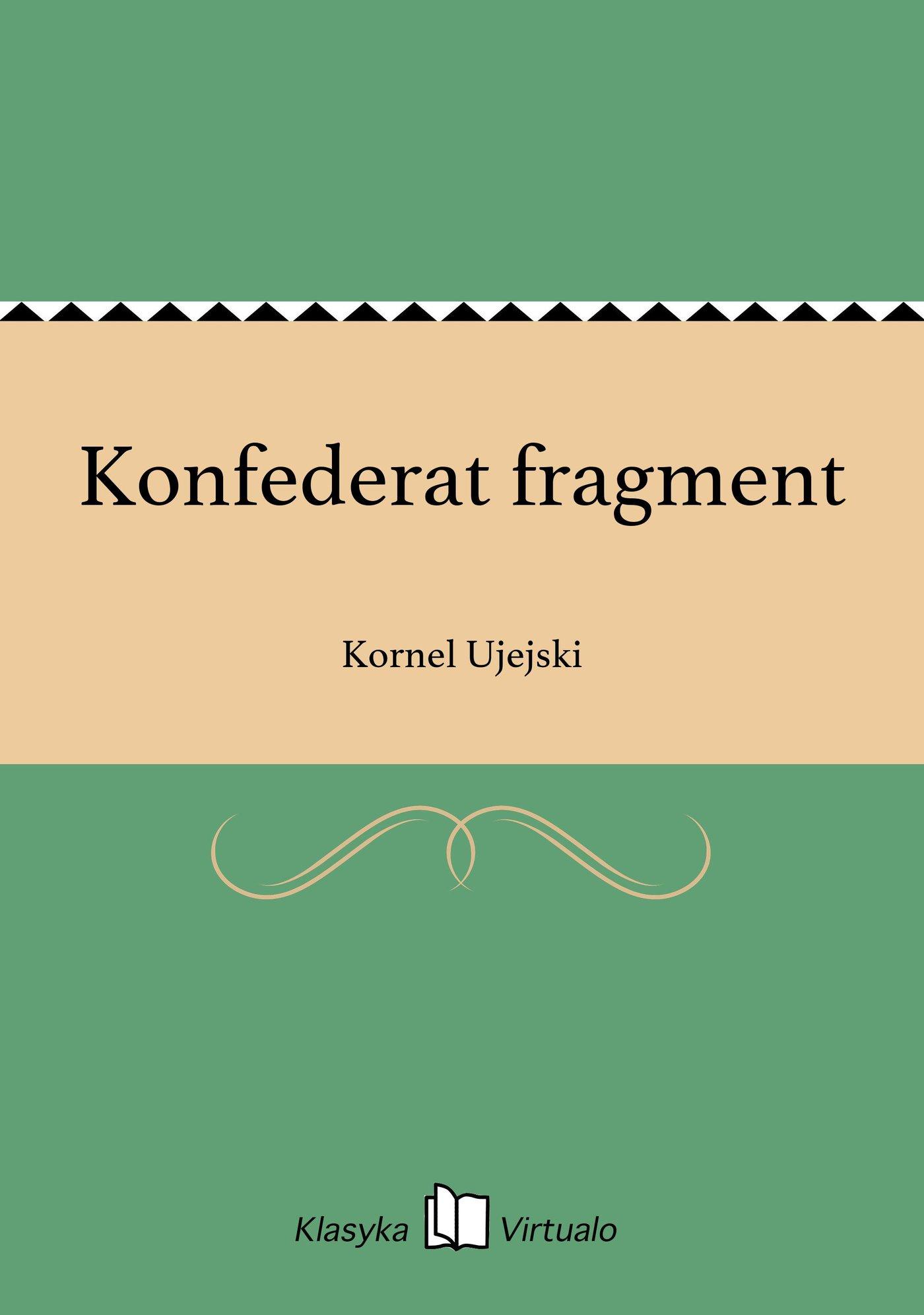 Konfederat fragment - Ebook (Książka na Kindle) do pobrania w formacie MOBI