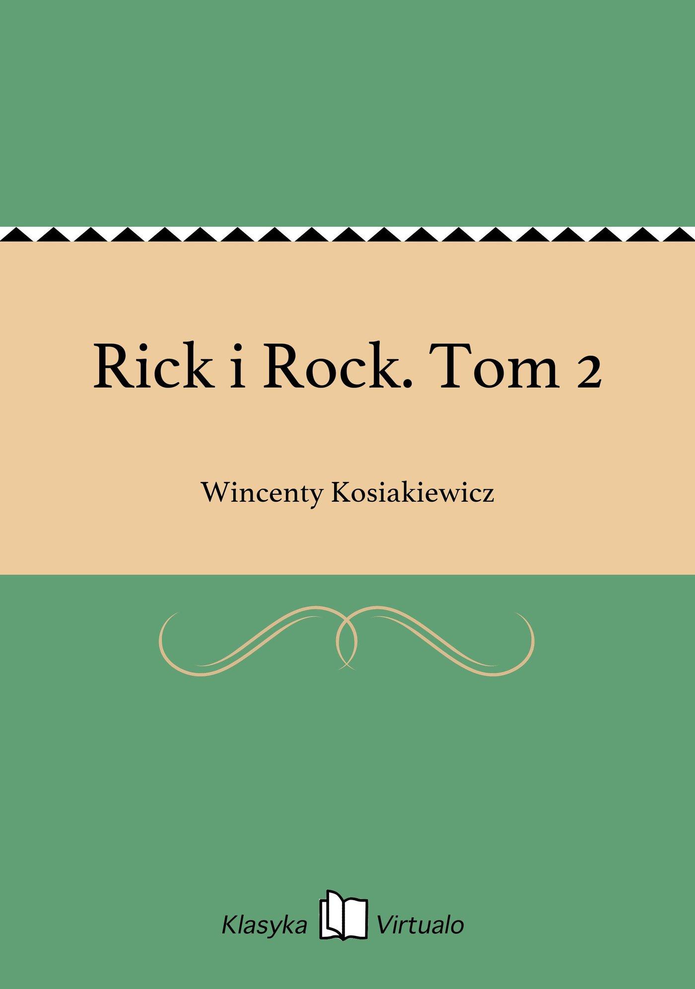 Rick i Rock. Tom 2 - Ebook (Książka na Kindle) do pobrania w formacie MOBI