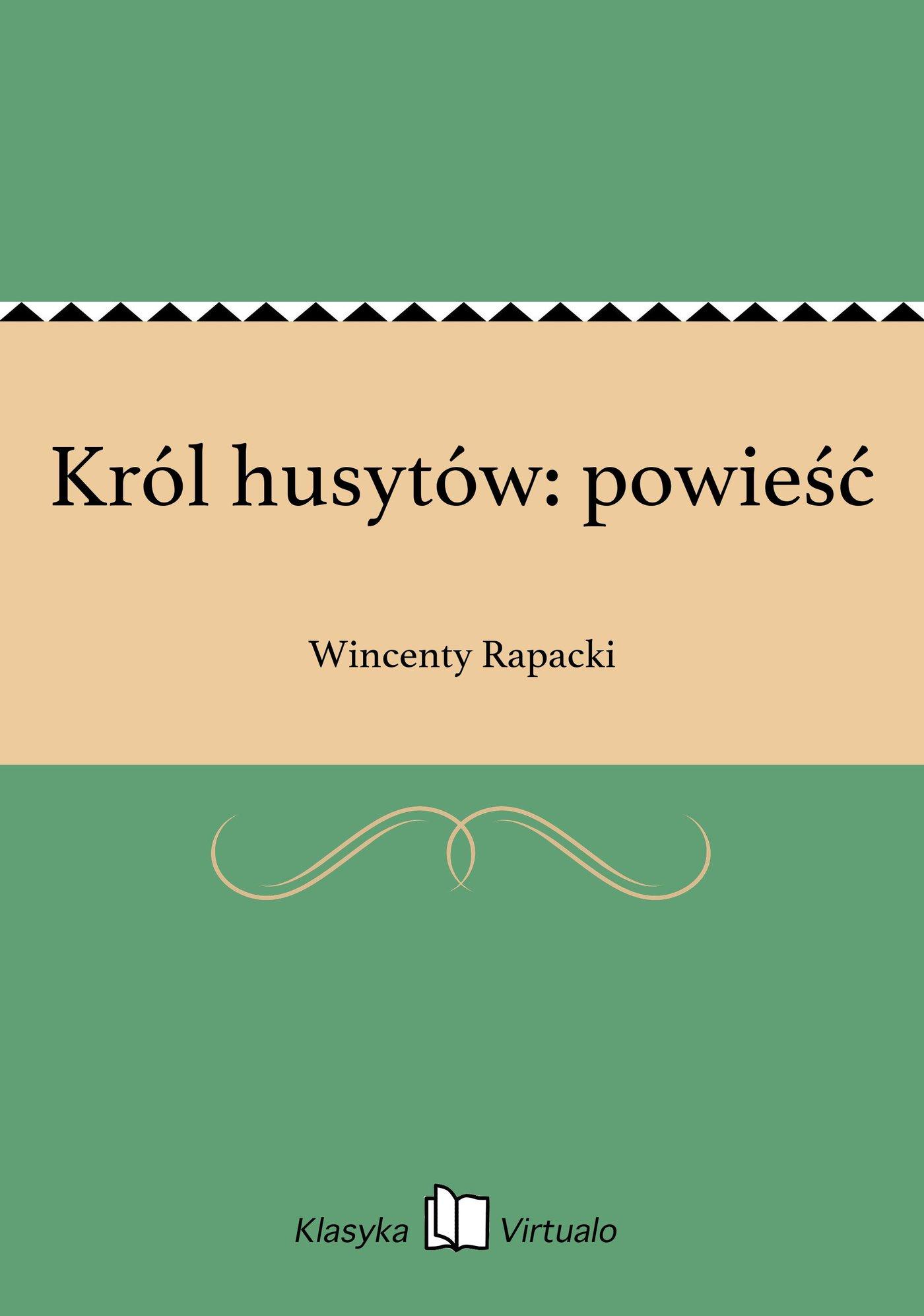 Król husytów: powieść - Ebook (Książka na Kindle) do pobrania w formacie MOBI