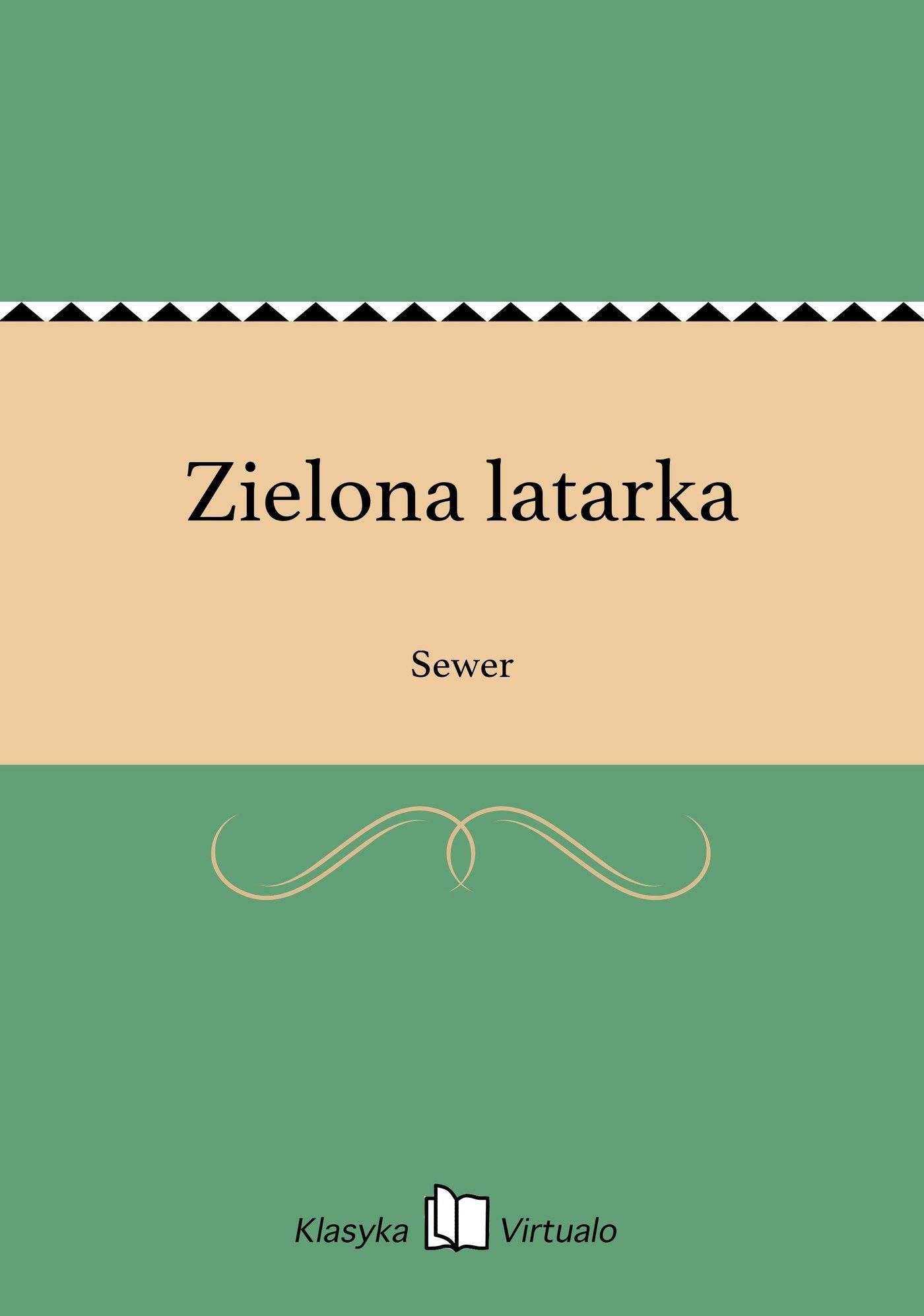 Zielona latarka - Ebook (Książka na Kindle) do pobrania w formacie MOBI