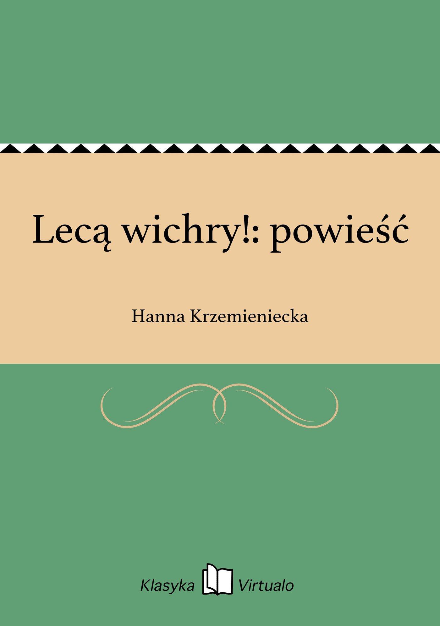Lecą wichry!: powieść - Ebook (Książka na Kindle) do pobrania w formacie MOBI