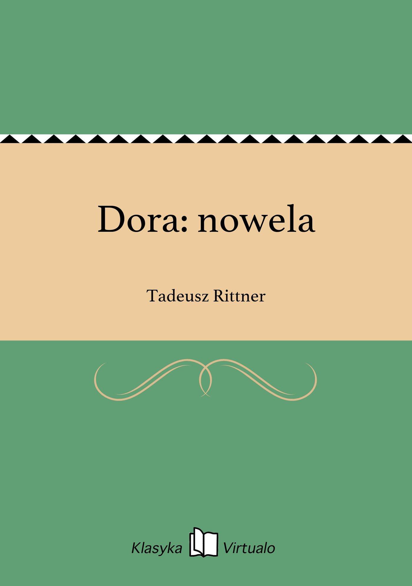 Dora: nowela - Ebook (Książka na Kindle) do pobrania w formacie MOBI