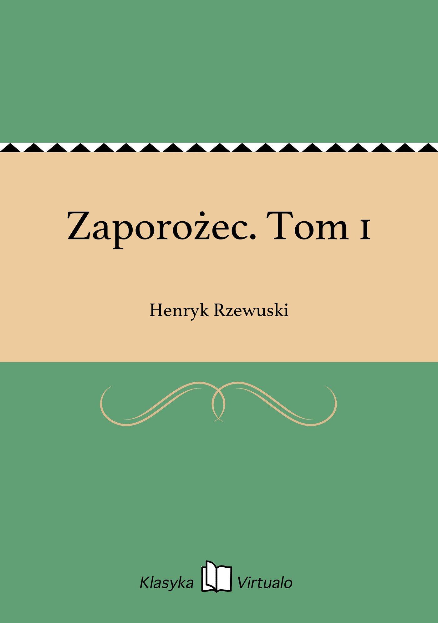 Zaporożec. Tom 1 - Ebook (Książka na Kindle) do pobrania w formacie MOBI