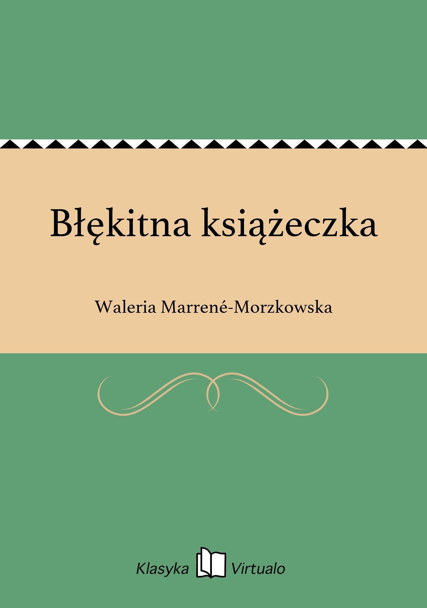 Błękitna książeczka - Ebook (Książka na Kindle) do pobrania w formacie MOBI