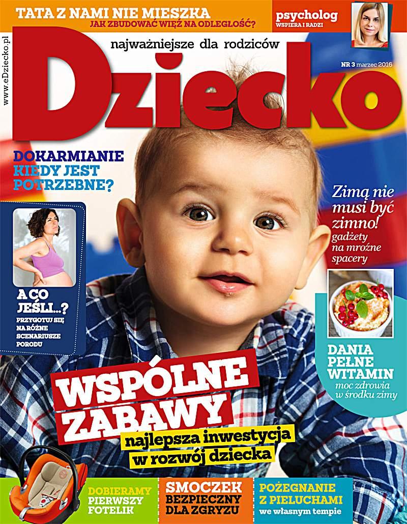 Dziecko 3/2016 - Ebook (Książka PDF) do pobrania w formacie PDF