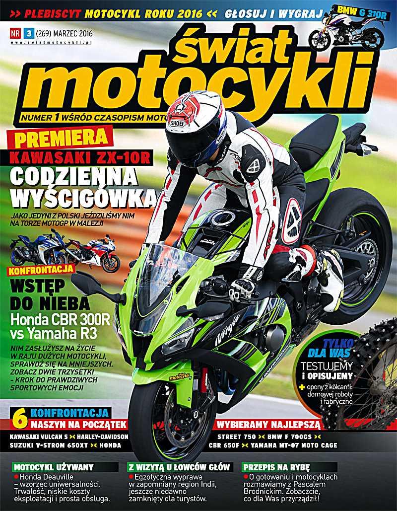 Świat Motocykli 3/2016 - Ebook (Książka PDF) do pobrania w formacie PDF
