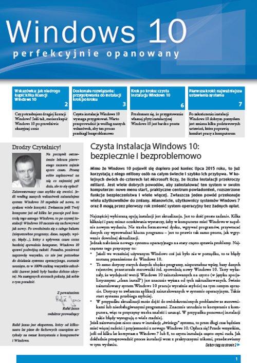 Windows 10 perfekcyjnie opanowany - Ebook (Książka PDF) do pobrania w formacie PDF