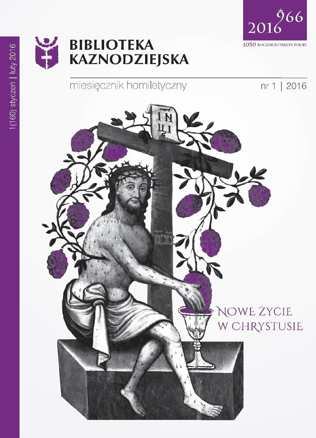 Biblioteka Kaznodziejska nr 01/2016 - Ebook (Książka na Kindle) do pobrania w formacie MOBI