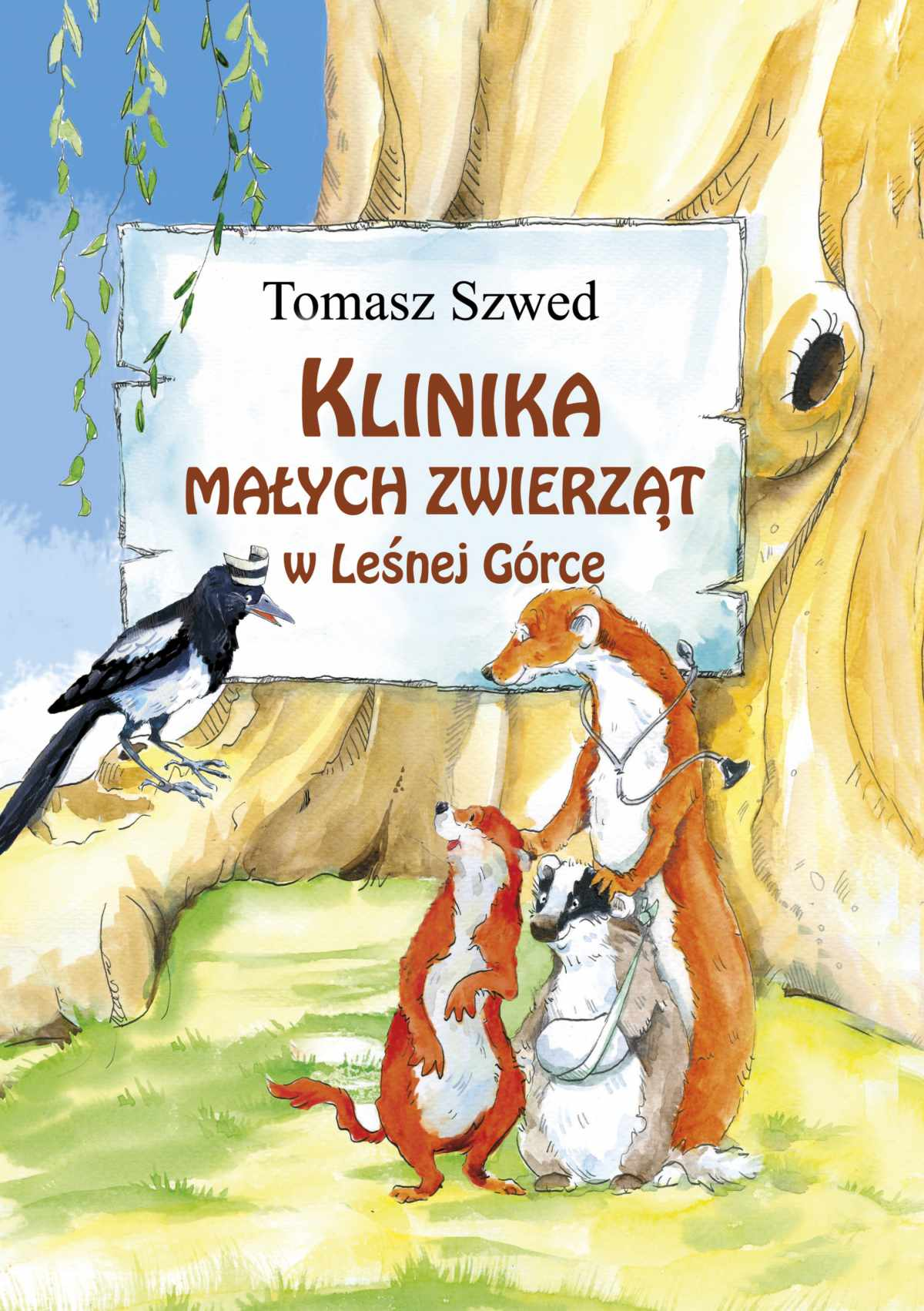 Klinika Małych Zwierząt w Leśnej Górce - Ebook (Książka na Kindle) do pobrania w formacie MOBI