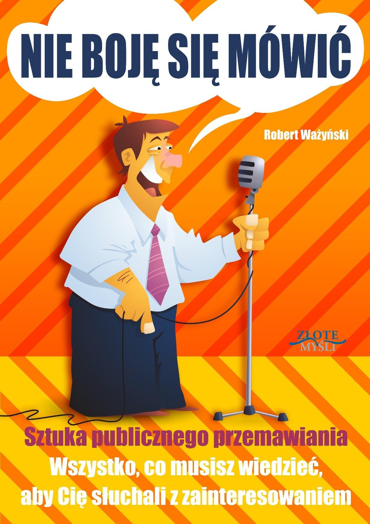 Nie boję się mówić! - Audiobook (Książka audio MP3) do pobrania w całości w archiwum ZIP