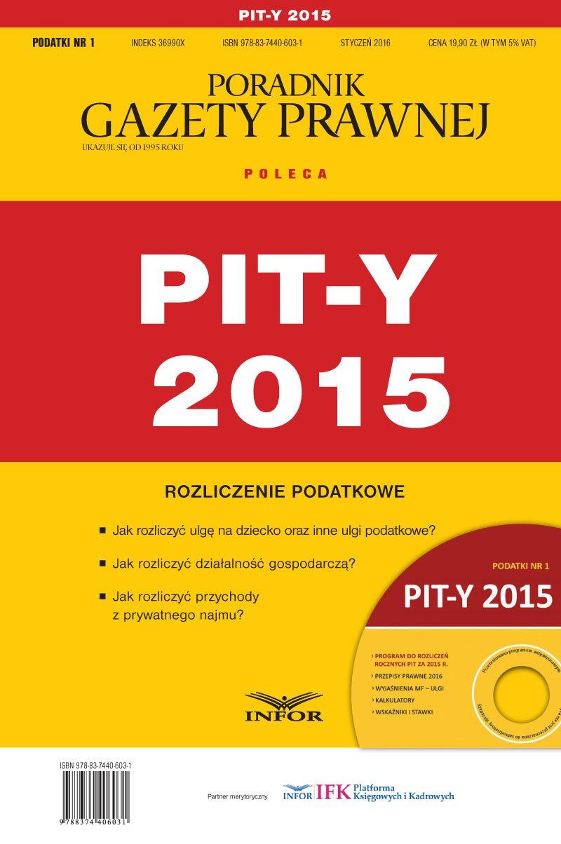 PIT-y 2015 - Ebook (Książka PDF) do pobrania w formacie PDF