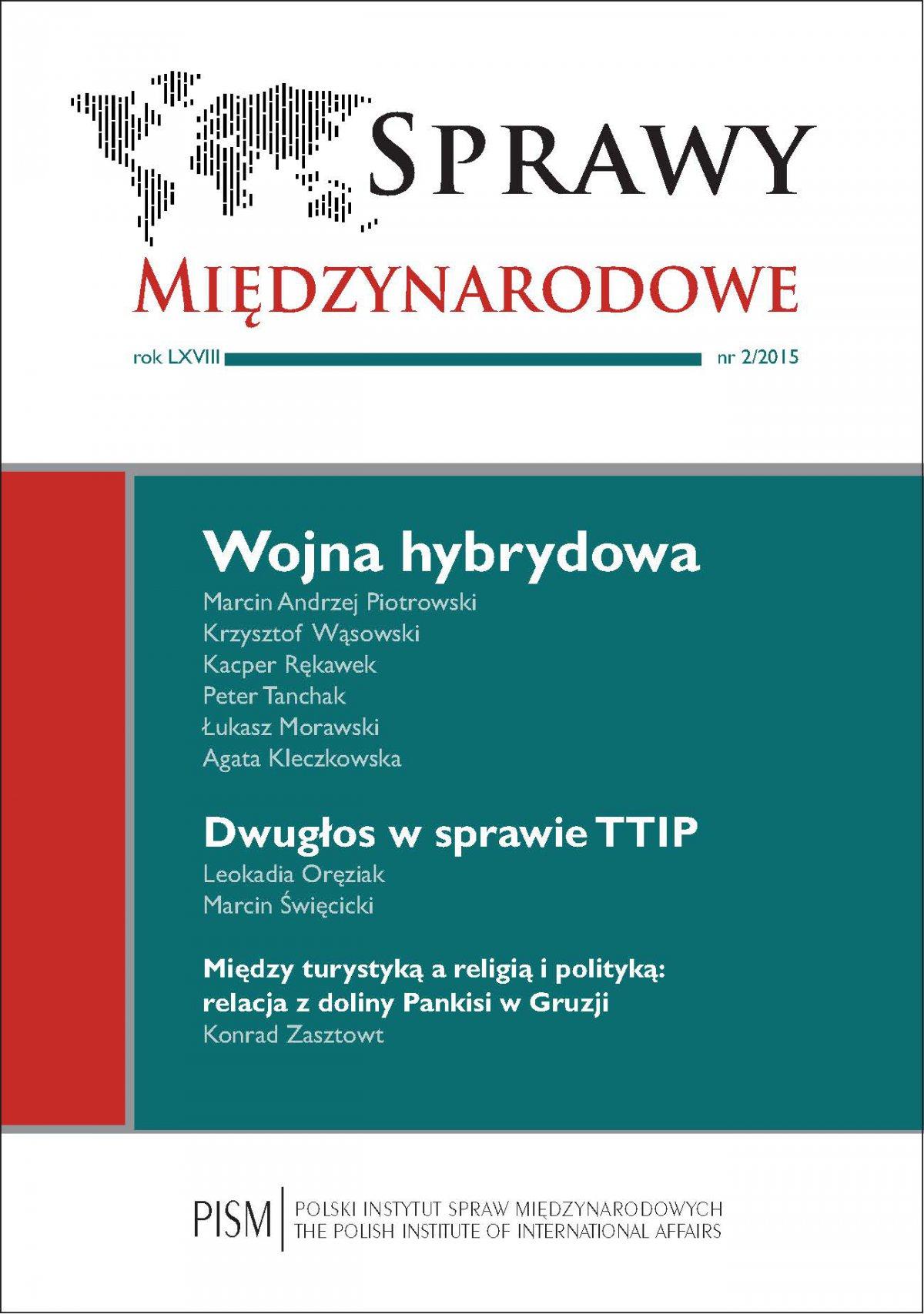 Sprawy Międzynarodowe 2/2015 - Ebook (Książka PDF) do pobrania w formacie PDF