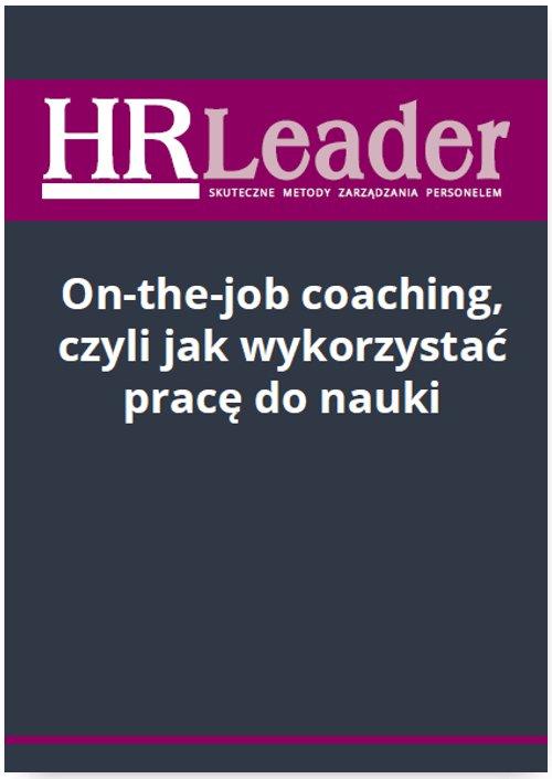 On-the-job coaching, czyli jak wykorzystać pracę do nauki - Ebook (Książka PDF) do pobrania w formacie PDF