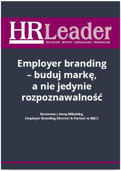 Employer branding - buduj markę, a nie jedynie rozpoznawalność - Ebook (Książka PDF) do pobrania w formacie PDF