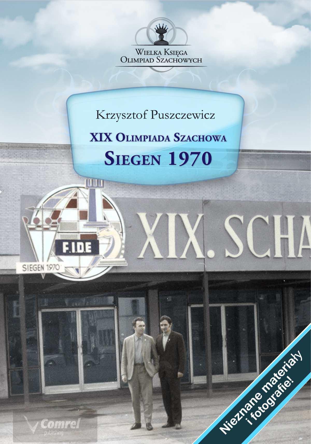 XIX Olimpiada Szachowa. Siegen 1970 - Ebook (Książka PDF) do pobrania w formacie PDF