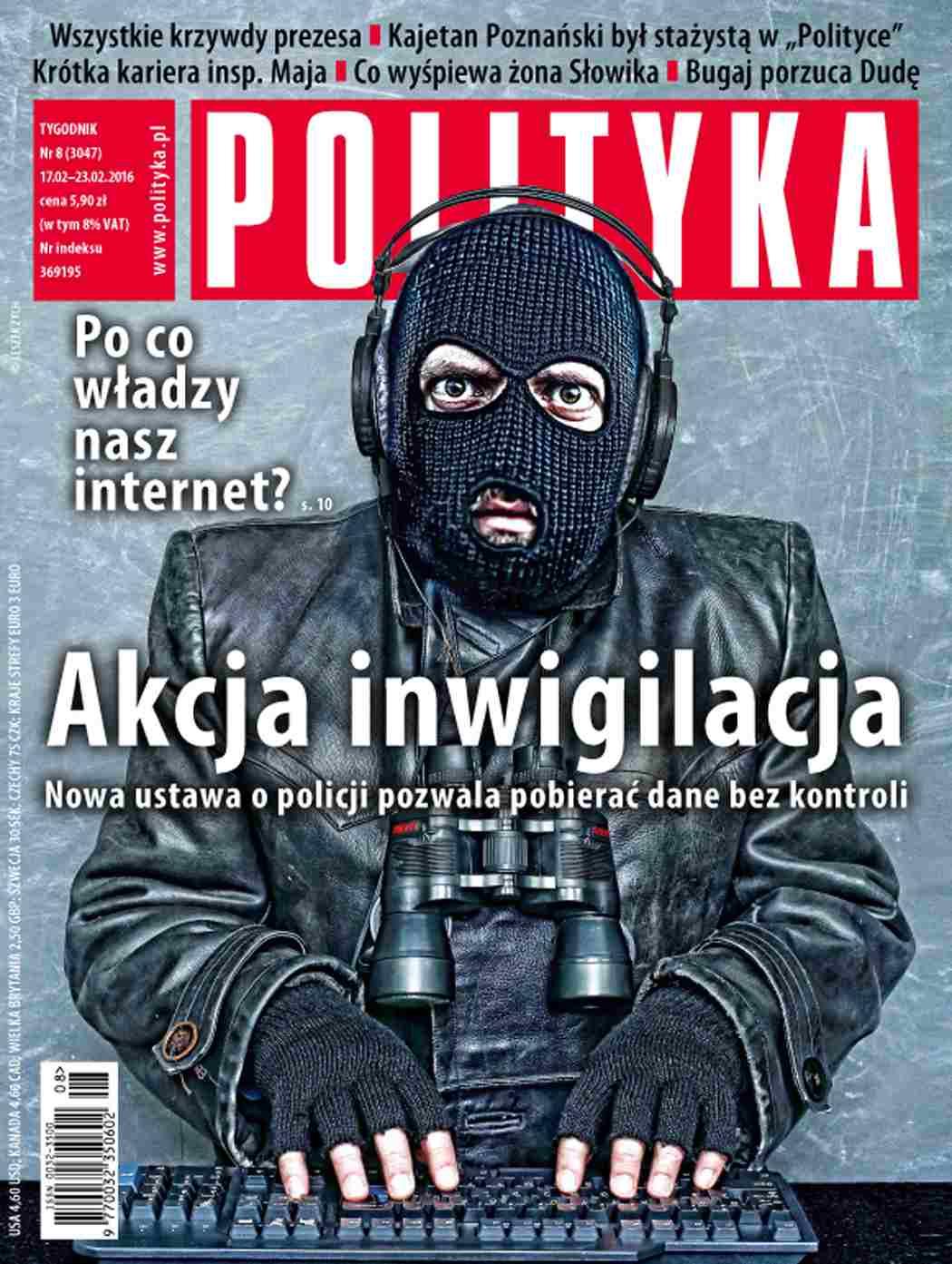 Polityka nr 8/2016 - Ebook (Książka PDF) do pobrania w formacie PDF