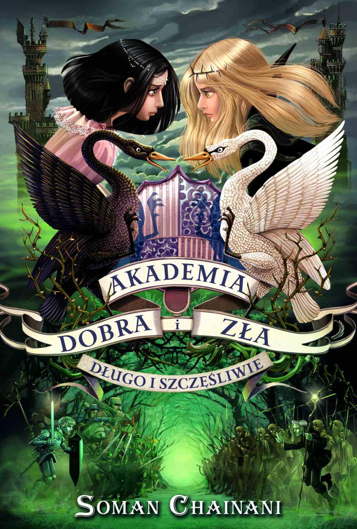 Akademia Dobra i Zła 3. Długo i szczęśliwie - Ebook (Książka na Kindle) do pobrania w formacie MOBI