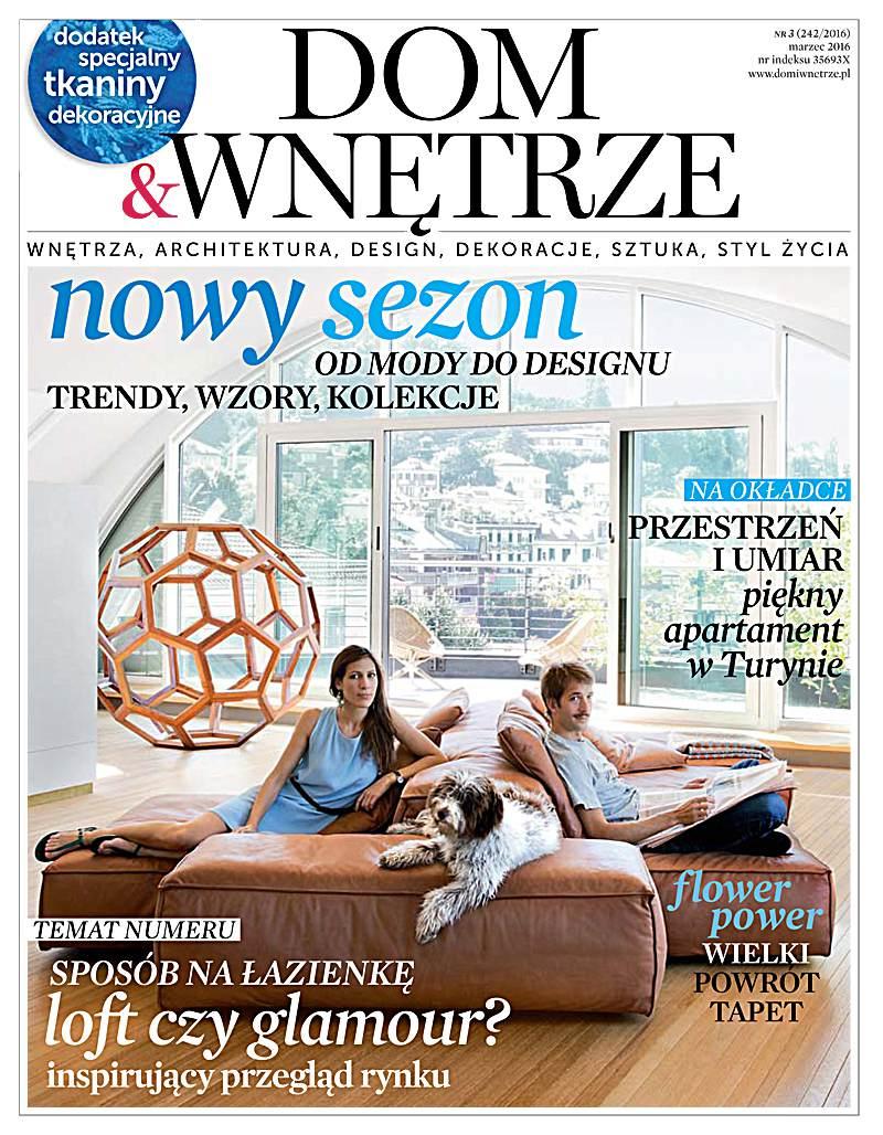 Dom i Wnętrze 3/2016 - Ebook (Książka PDF) do pobrania w formacie PDF
