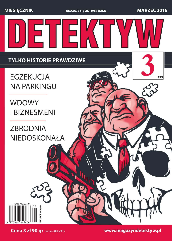 Detektyw 3/2016 - Ebook (Książka na Kindle) do pobrania w formacie MOBI
