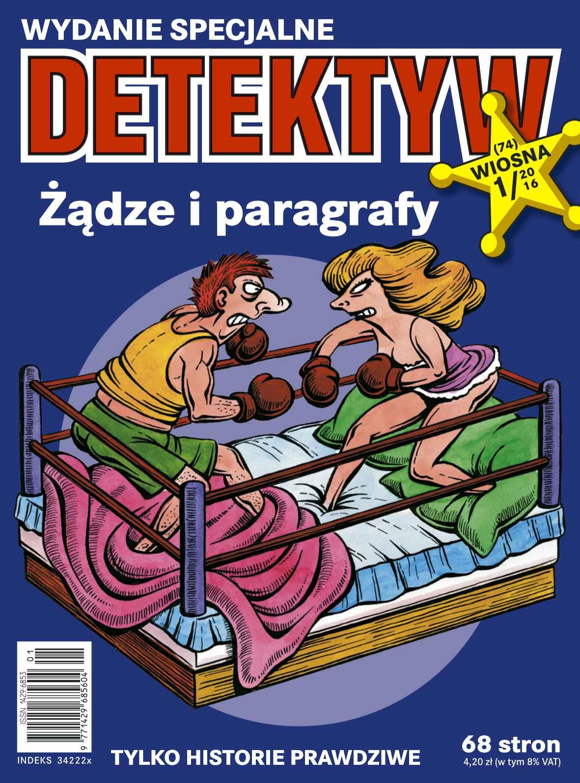 Detektyw - Wydanie Specjalne 1/2016 - Ebook (Książka na Kindle) do pobrania w formacie MOBI