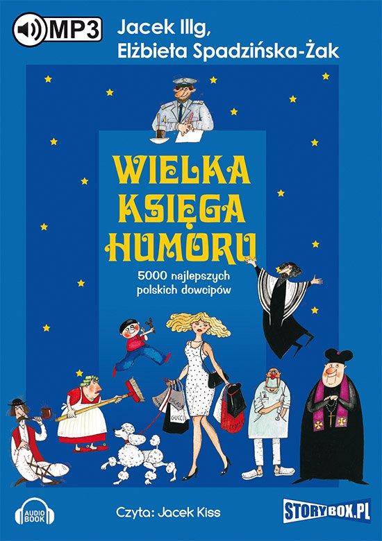 Wielka księga humoru - Audiobook (Książka audio MP3) do pobrania w całości w archiwum ZIP