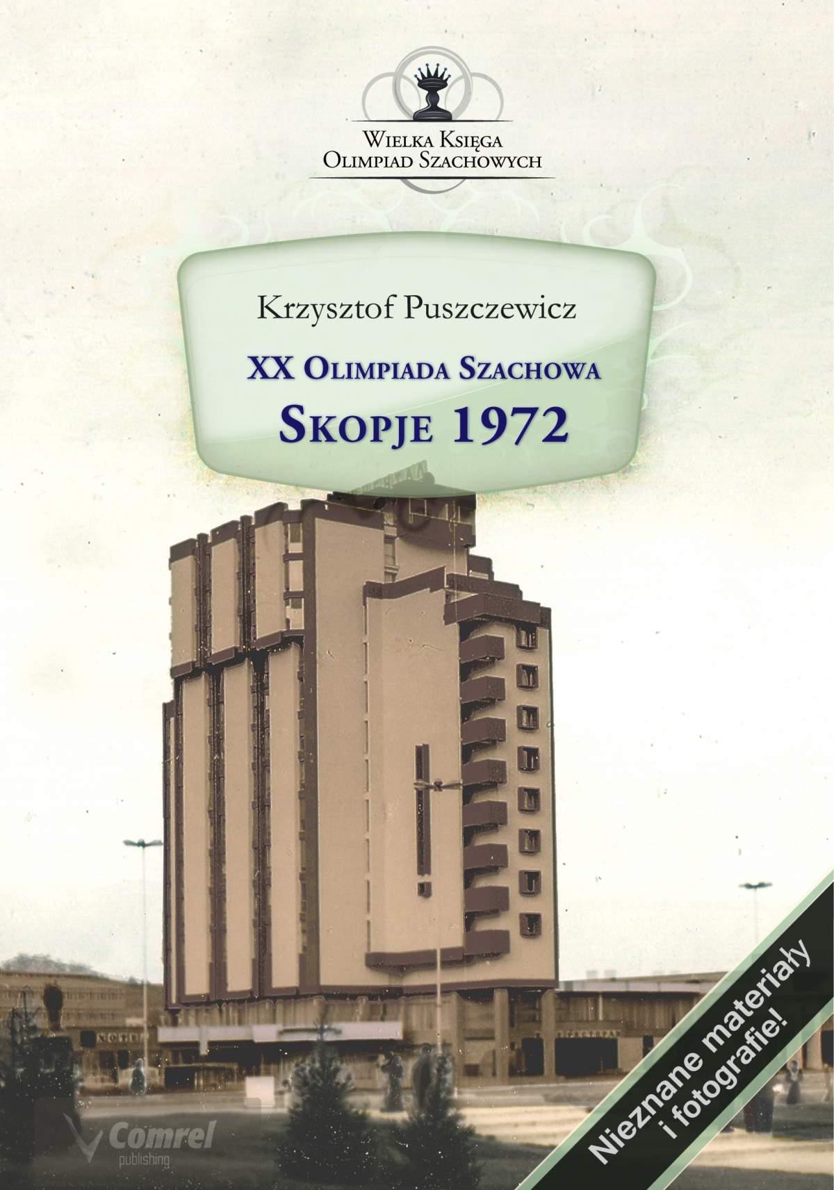 XX Olimpiada Szachowa. Skopje 1972 - Ebook (Książka PDF) do pobrania w formacie PDF