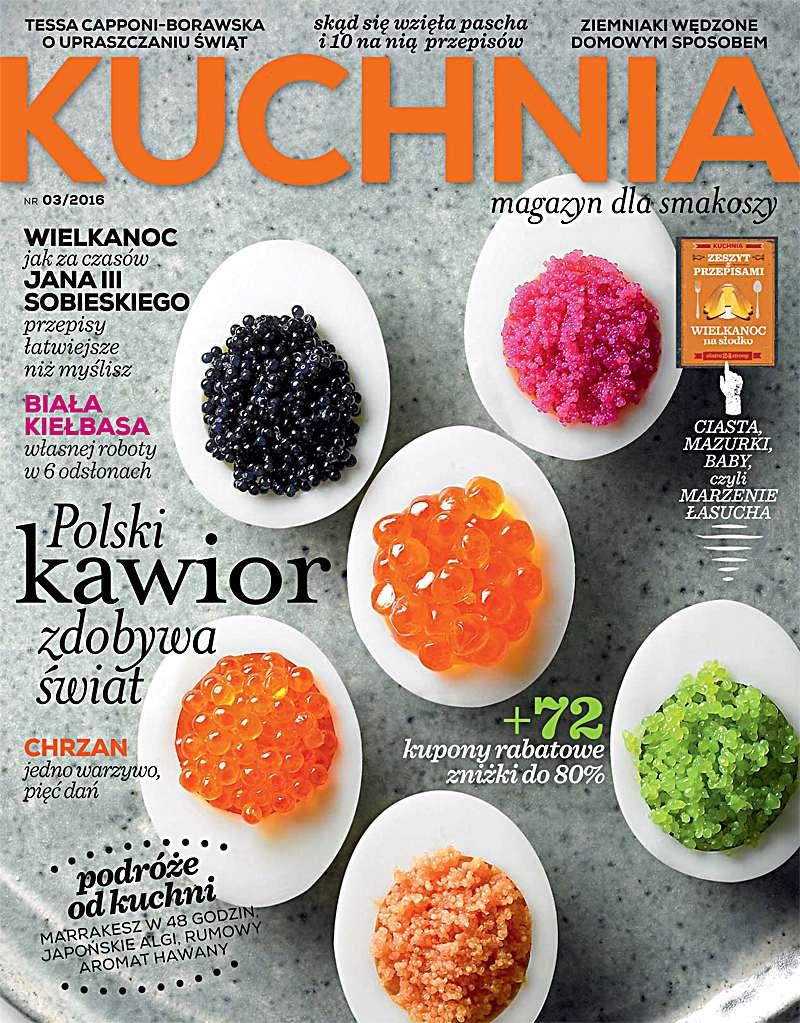 Kuchnia 3/2016 - Ebook (Książka PDF) do pobrania w formacie PDF